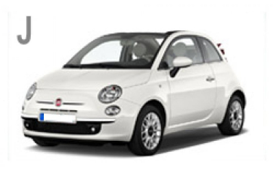Autos Roquero - Fiat 500 Convertible Automatic
